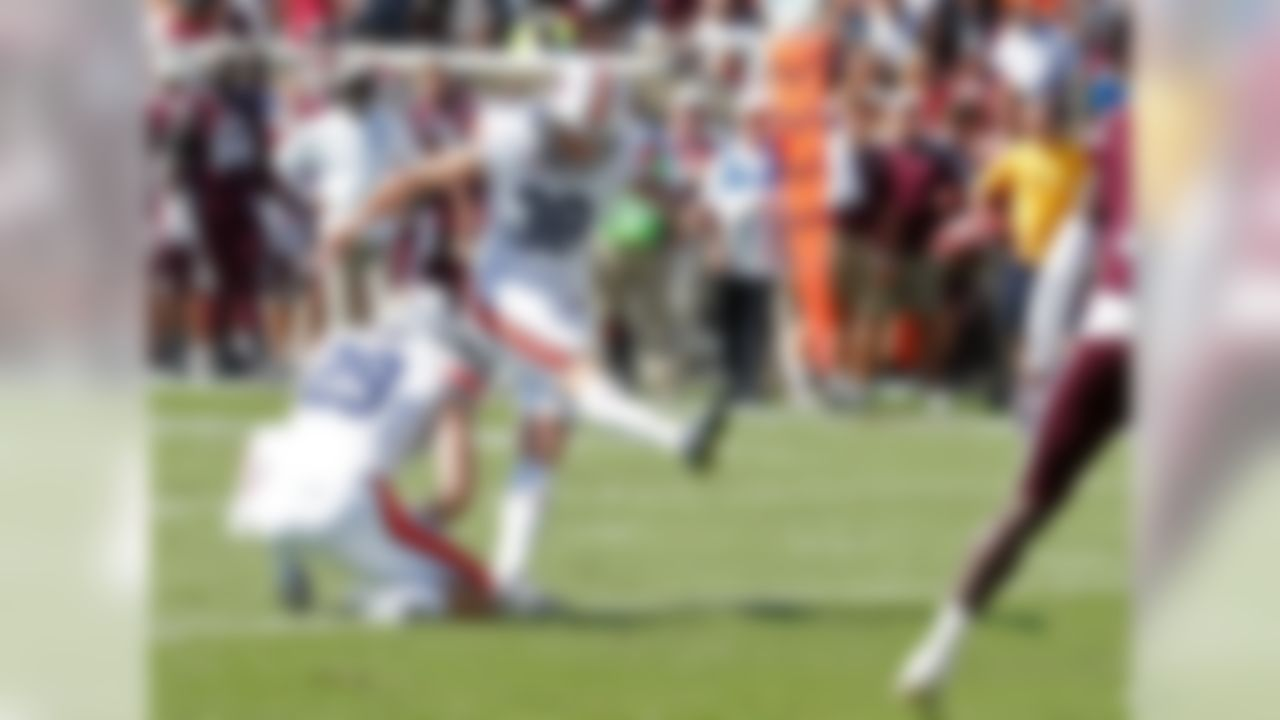 Teams need a kicker who is able to convert when it counts. Carlson has that ability. His six points were the only offense the Tigers could muster in the last quarter and a half of their win over Vandy last week. Earlier in the season, he carried the team to a win over LSU with his six converted field goals comprising all of Auburn's scoring. He made kick of 50-plus yards in both of those games, which bookend the Tigers' current six-game winning streak.