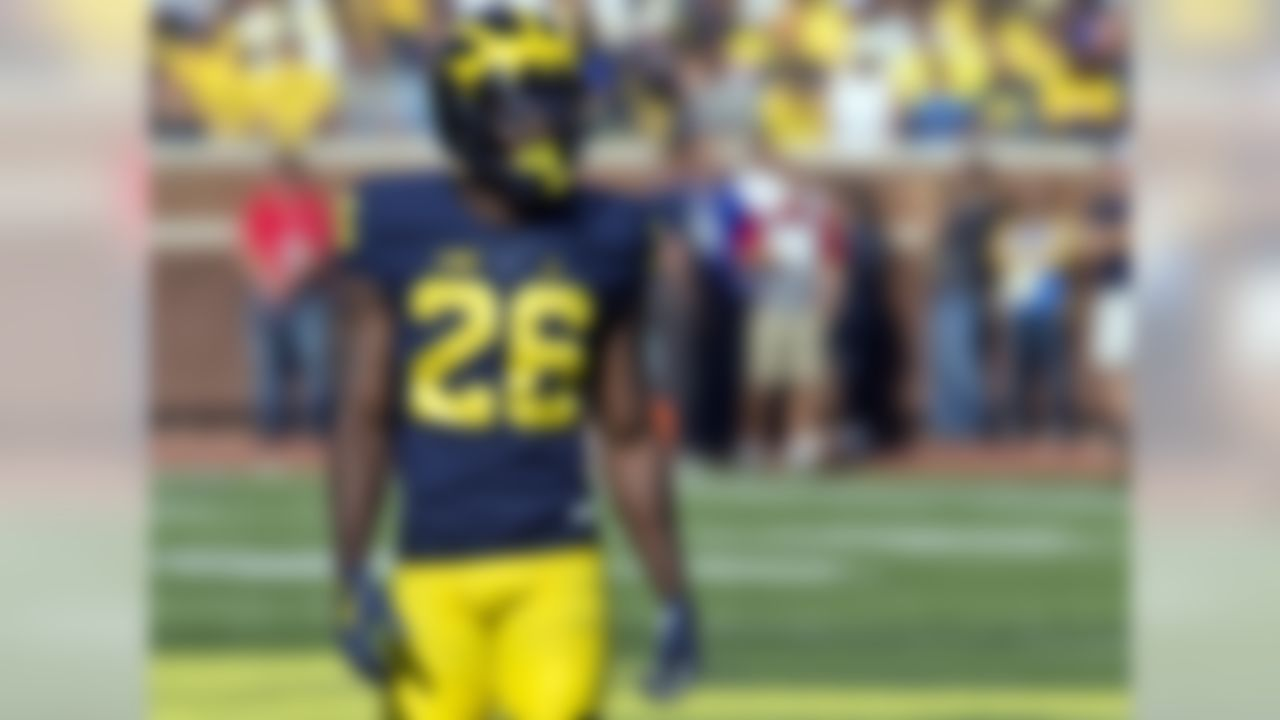Game: Orange Bowl (vs. Florida State), 8 p.m., ESPN The 2016 season didn't start off so well for Lewis, as he missed the first three games with various injuries. Once on the field, however, the Wolverines and their opponents felt his presence. The All-American and Big Ten Defensive Back of the Year spent October and November in the hip pocket of receivers, intercepting two passes and breaking up 10 others. Though more slight than scouts prefer in a corner, Lewis has added weight and is as aggressive in man coverage as any 6-foot-plus defender.