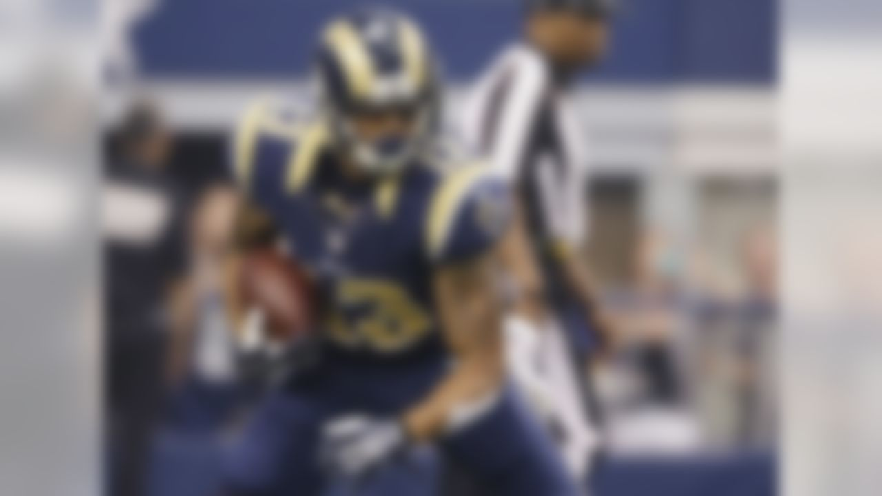 Givens took a step back in the stat sheets last season, posting fewer catches, yards and touchdowns compared to his rookie totals. While he still seems likely to fill a starting role in the offense, Givens is one of several young wideouts the Rams are hoping will break out in 2014. But with Tavon Austin, Austin Pettis, Brian Quick and Stedman Bailey all in the mix, Givens seems unlikely to become a fantasy hero.