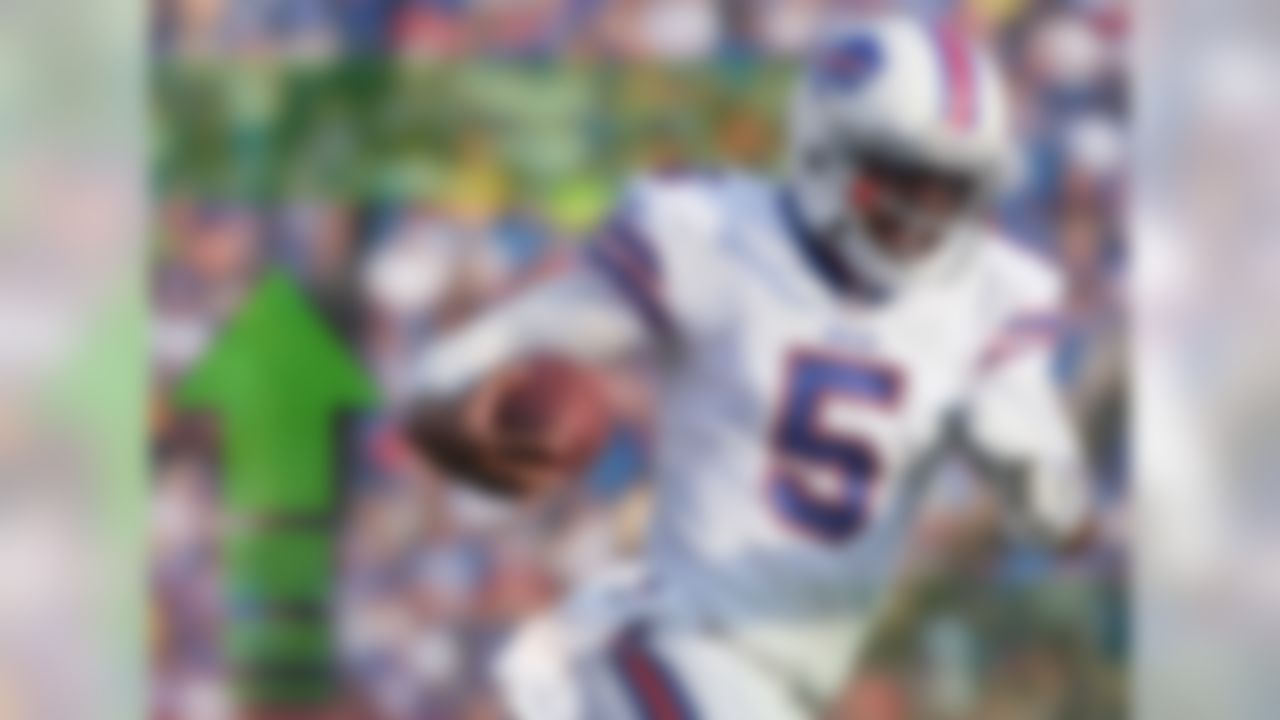 We have a starting quarterback in Buffalo! Tyrod Taylor has been named to the job, ending weeks of speculation. The idea that Taylor would win the gig had been picking up steam throughout training camp and was reinforced by the young quarterback's play during the Bills' preseason games. It's a major stretch to think that Taylor could be more than a late round option as a QB2 this season, but as a starting signal-caller in the National Football League, there is certainly some value there. Even more when you consider Taylor's ability to run with the football.
