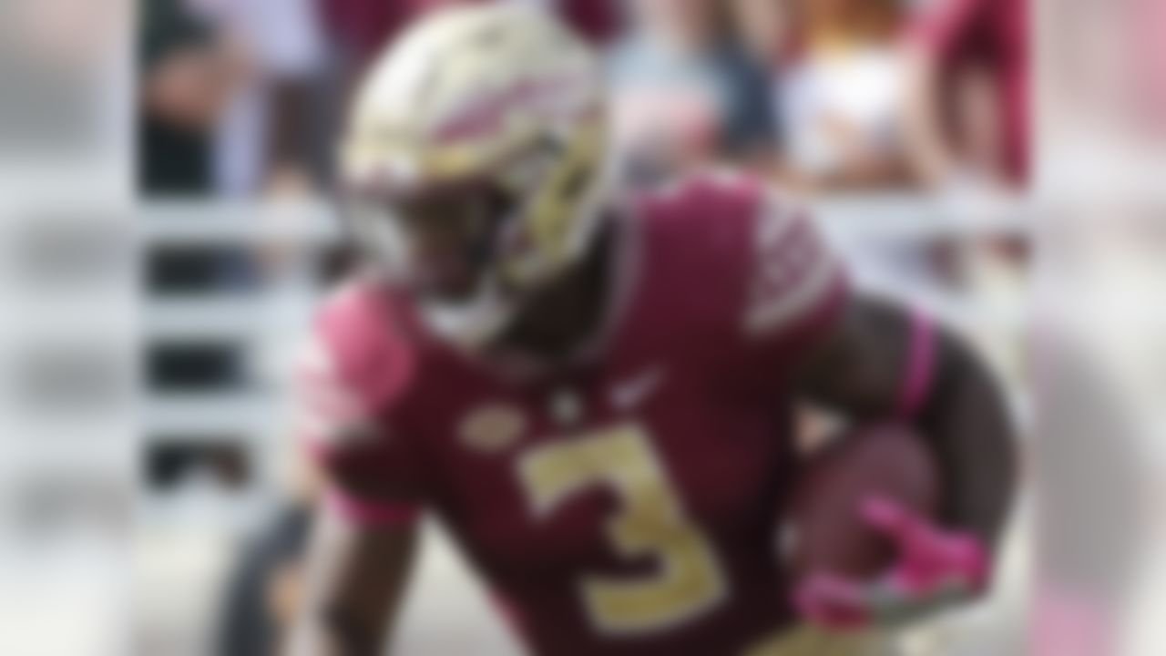 When the Seminoles landed Akers as a five-star recruit and the No. 2-ranked running back in the class of 2017, it was presumed he would capably fill the void left by Minnesota Vikings 2017 second-round pick Dalvin Cook. He did just that. In fact, he broke Cook's FSU freshman record on his way to 1,024 yards on the ground. Akers runs with good initial patience and vision before exploding through the crease. He shakes tackles more than he runs through them, showing a knack for absorbing contact and maintaining his balance. NFL scouts have at least two more years to build an evaluation on Akers, but he's already made them take notice.
