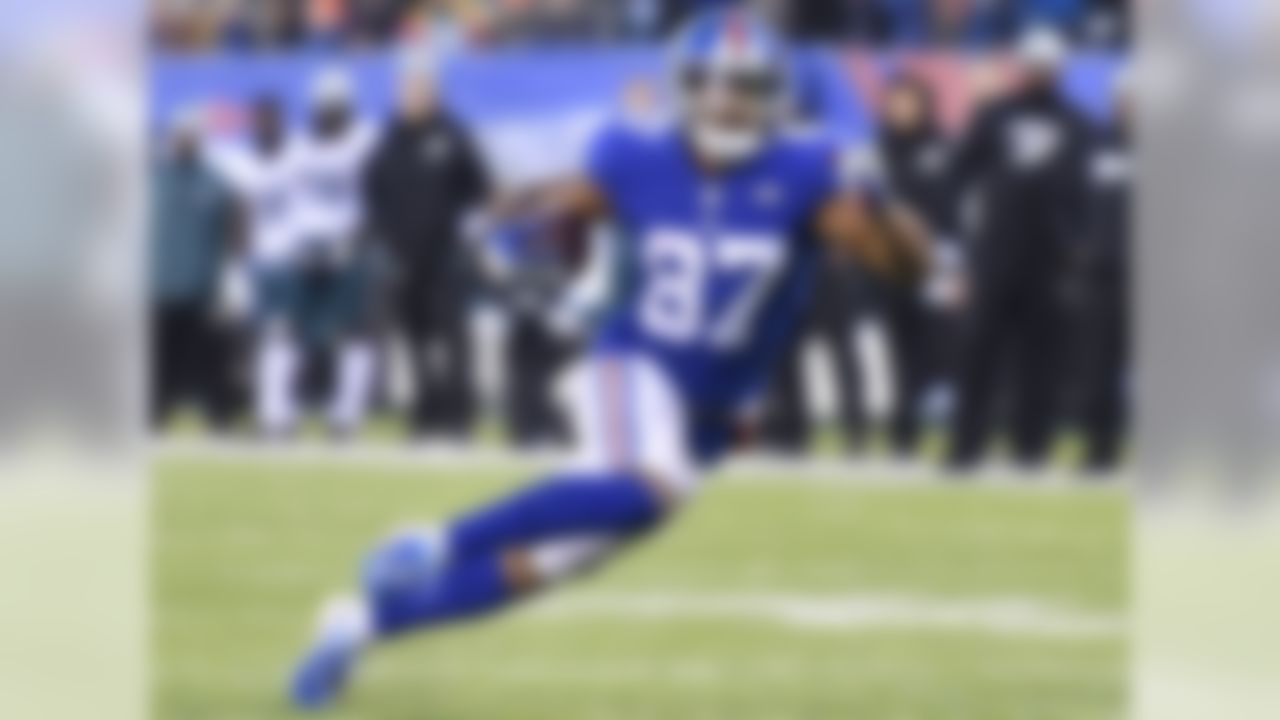 10. Sterling Shepard, WR, New York Giants