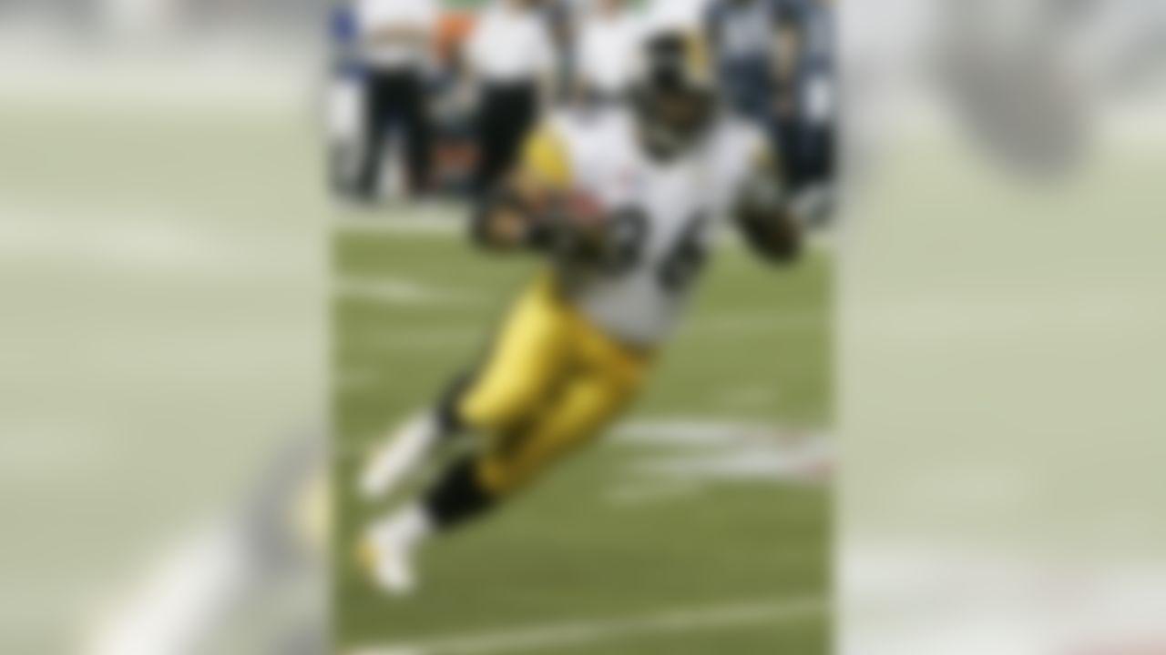 Jerome Bettis, RB, 1993-95 Los Angeles/St. Louis Rams, 1996-2005 Pittsburgh Steelers(AP Photo/Gene J. Puskar)