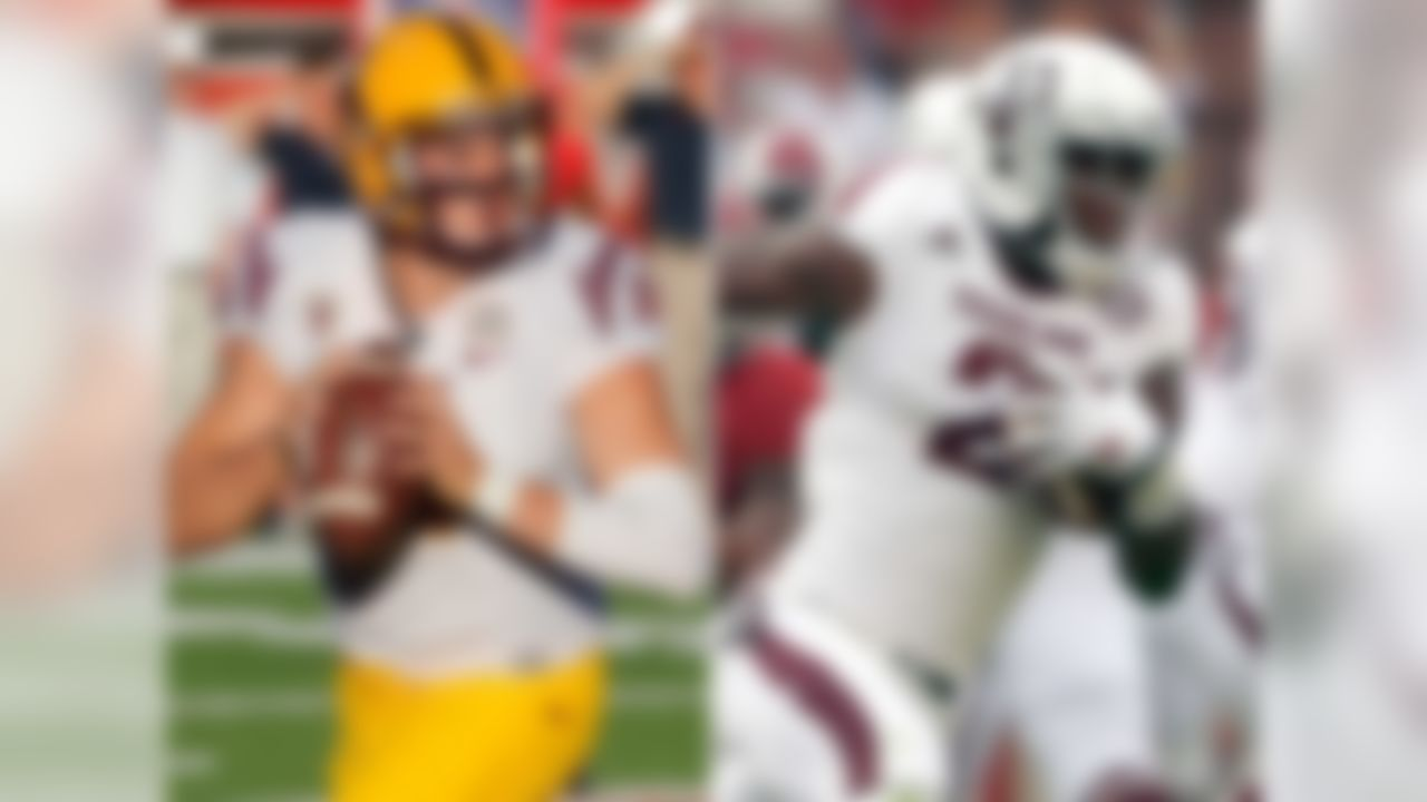 Date: Sept. 5 Skinny: If you like the air filled with footballs, don't miss this one. An outstanding non-conference clash on a neutral site, the Sun Devils and Aggies could easily combine for 100 pass attempts. You might see new TAMU defensive coordinator John Chavis' hair graying before your very eyes on the sideline.