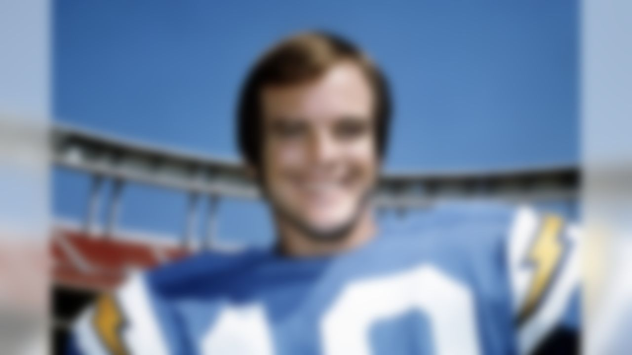 San Diego Chargers Hall of Fame wide receiver Lance Alworth in 1970. (National Football League)