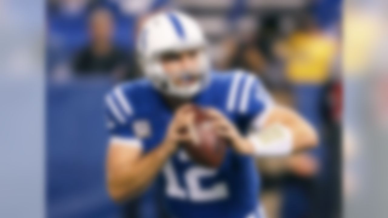Luck has chance to be the wire-to-wire scoring leader among all fantasy players. A matchup against the Jaguars, whom he lit up for 370 passing yards and four touchdowns in Week 3, will help further that cause for Luck.