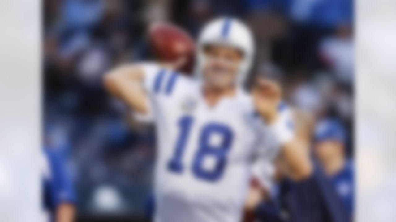 Current record: 5,477 – Peyton Manning (2013) 2020 leader: 4,823 - Deshaun Watson Difference: 654 Single-game NFL record: 554 yards (HOF Norm Van Brocklin) 17-game span record: 5,854 (Peyton Manning)