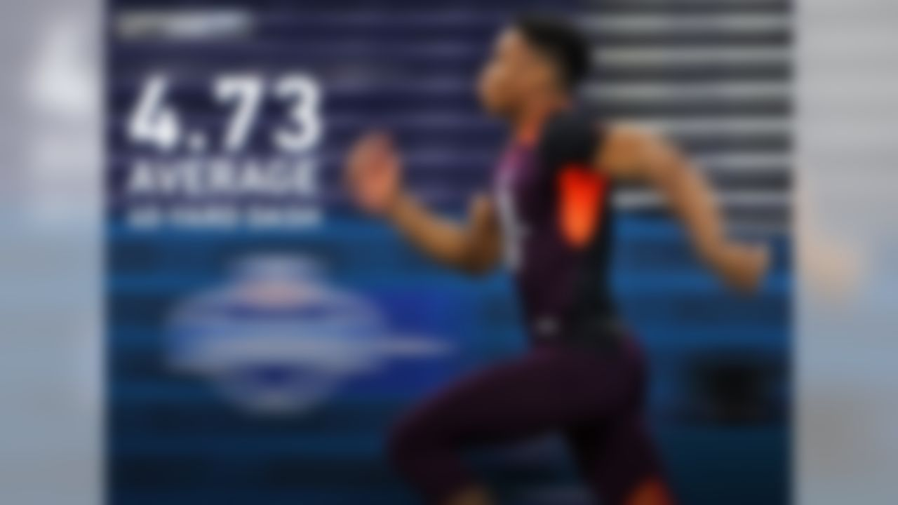 Speed defines the new NFL, and the 2019 Scouting Combine illuminated this trend. The 2019 Scouting Combine class was the fastest, on average (4.73), of any group since official 40-yard dash data was tracked in 2003. The wide receivers (4.50), linebackers (4.64), defensive line (4.91) and offensive line (5.17) all set group records for the 40-yard dash in 2019.