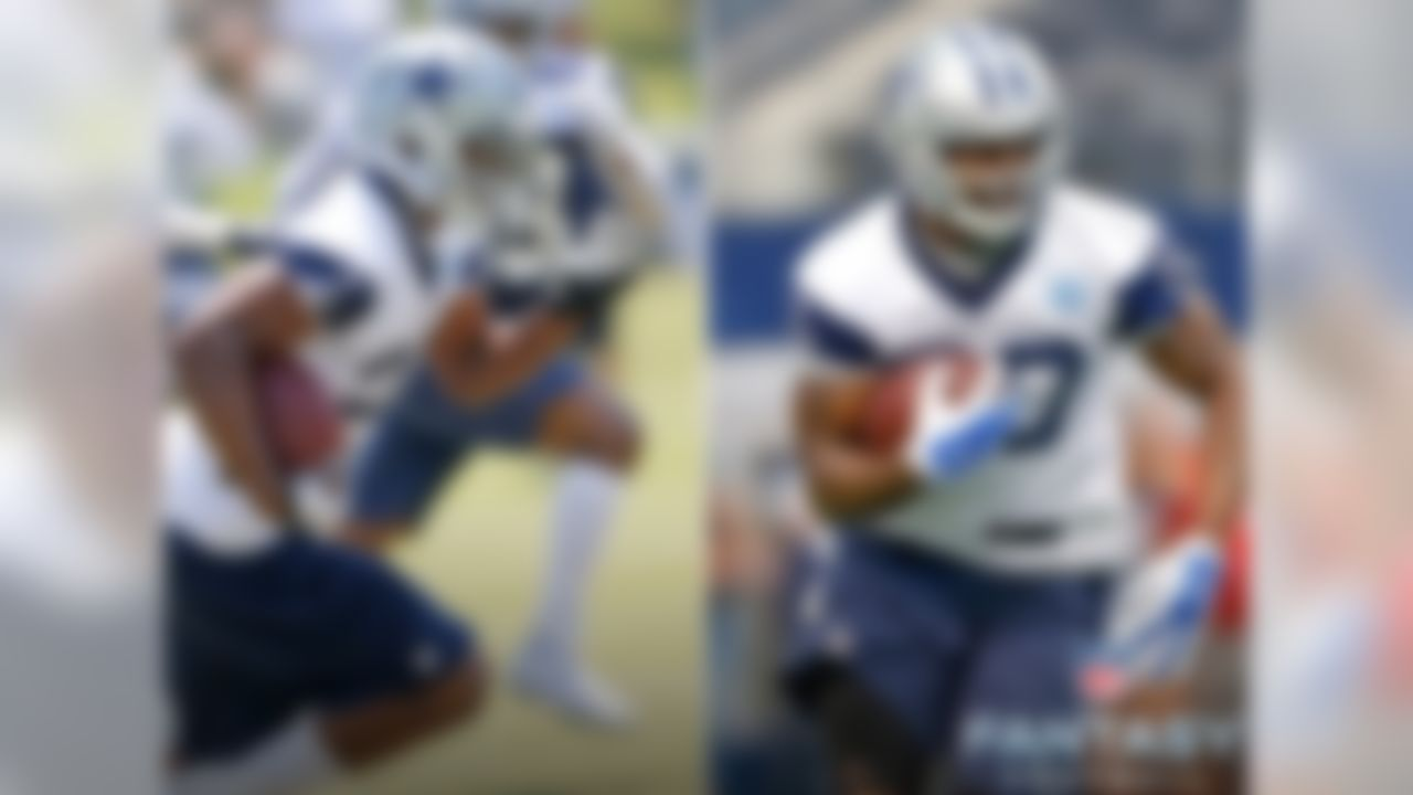 """As Roger Murtaugh said in """"Lethal Weapon 2,"""" picking the eventual lead back in Dallas could equate to winning a """"Donald Trump lotto"""" in fantasy football. The Cowboys have one of the best offensive lines in the NFL, which contributed to the success of DeMarco Murray a season ago. I'm on board with Joseph Randle, who averaged 6.7 yards per carry in 2014 and has youth and potential on his side. However, it wouldn't be a shock to see Darren McFadden open the season as the starter either. A committee situation is also very possible here, but an impressive camp from either Randle or McFadden will get the fantasy football hype train running on all cylinders."""