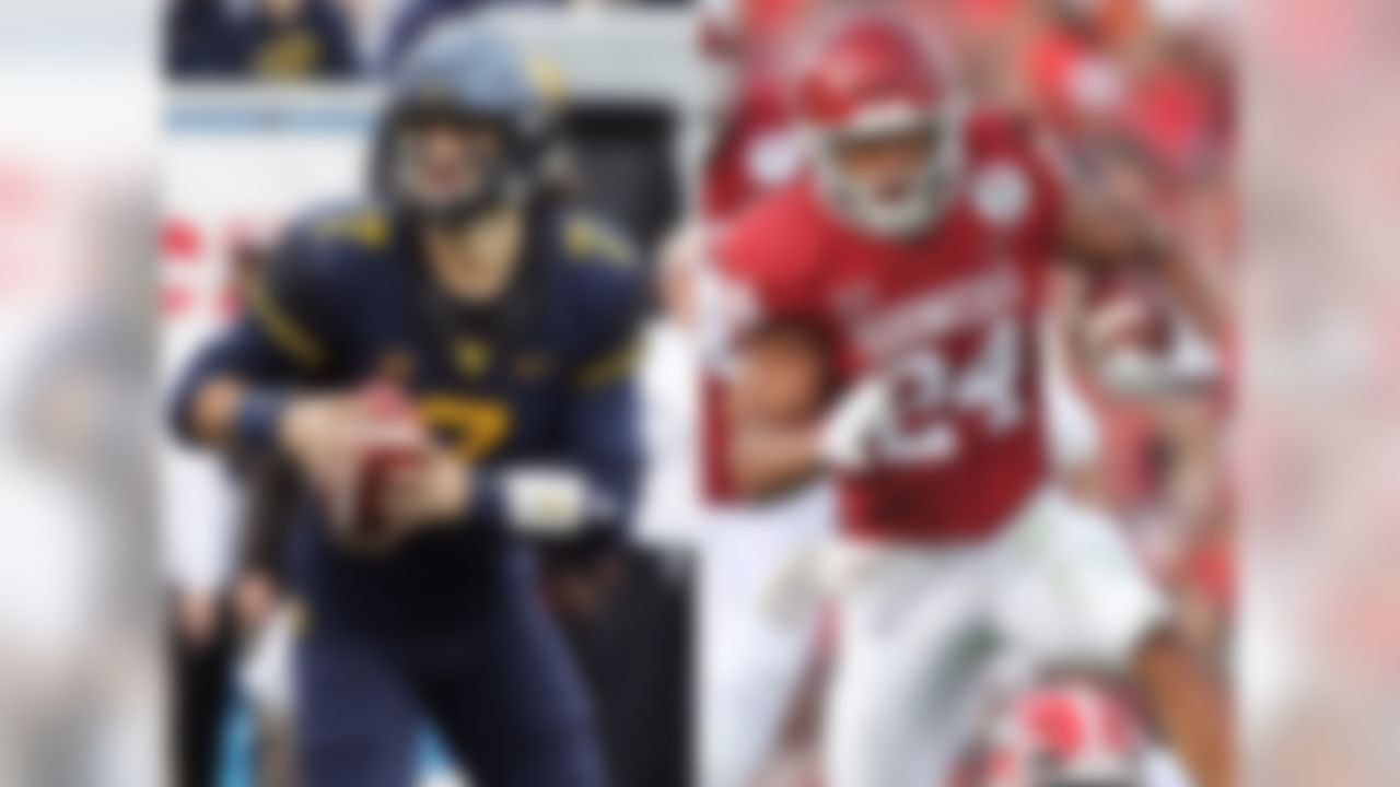 Matchup to watch: Oklahoma WR Marquise Brown vs. West Virginia CB Hakeem Bailey. The offensive firepower that will take the field here foretells a classic Big 12 shootout. The host Mountaineers will feature one of the most prolific pass combinations in the nation in Heisman Trophy contender Will Grier at QB, and WR David Sills V. The Sooners have a star RB in Rodney Anderson, who was unstoppable over the second half of last season. QB Kyler Murray, who is expected to replace Baker Mayfield, is a dynamic athlete, although his pro baseball future makes his status as a draft prospect unclear. He's signed as a first-round MLB pick with the Oakland A's, but intends to direct the Sooners offense this fall.