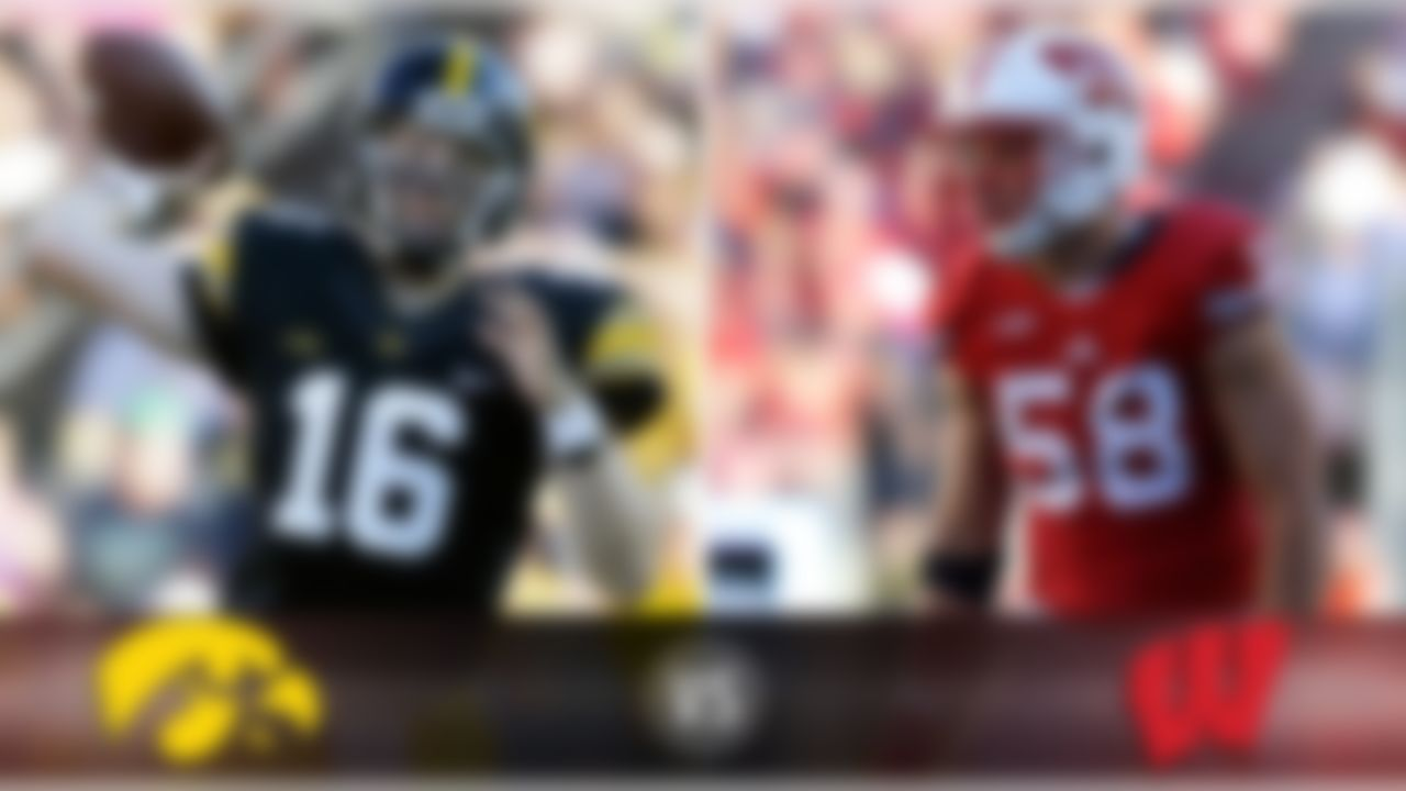 Details:  Saturday, Noon ET, ESPN What's at stake? Entering with a combined 7-1 record, it's the Big Ten opener for both schools and, for new Wisconsin coach Paul Chryst, a chance to endear himself to Badgers fans in his first conference home game. Iowa would like to recapture the Heartland Trophy for the first time since 2009. Matchup to watch:  Iowa QB C.J. Beathard vs. Wisconsin LB Joe Schobert Game picks:  Brandt: Wisconsin, 21-17 Brooks: Wisconsin, 27-26 Davis: Wisconsin, 27-20 Goodbread: Wisconsin, 20-13 Jeremiah: Wisconsin, 28-21 Reuter: Wisconsin, 24-17 Zierlein: Iowa, 24-20