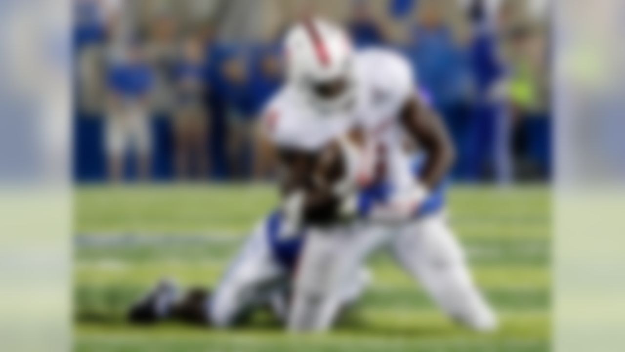 Game: New Orleans Bowl (vs. Southern Miss), 9 p.m., ESPN When the Rajun Cajuns have the ball, check out the quick and slippery McGuire. Although he's a smaller back, McGuire seems to find creases to move the chains. When those holes expand a bit, he exploits them for big gains. He's also an adept receiver out of the backfield, which helps his own cause running between the tackles to open space. I don't know if scouts will believe he has the power to be a starter at the next level, but someone should give him a shot.