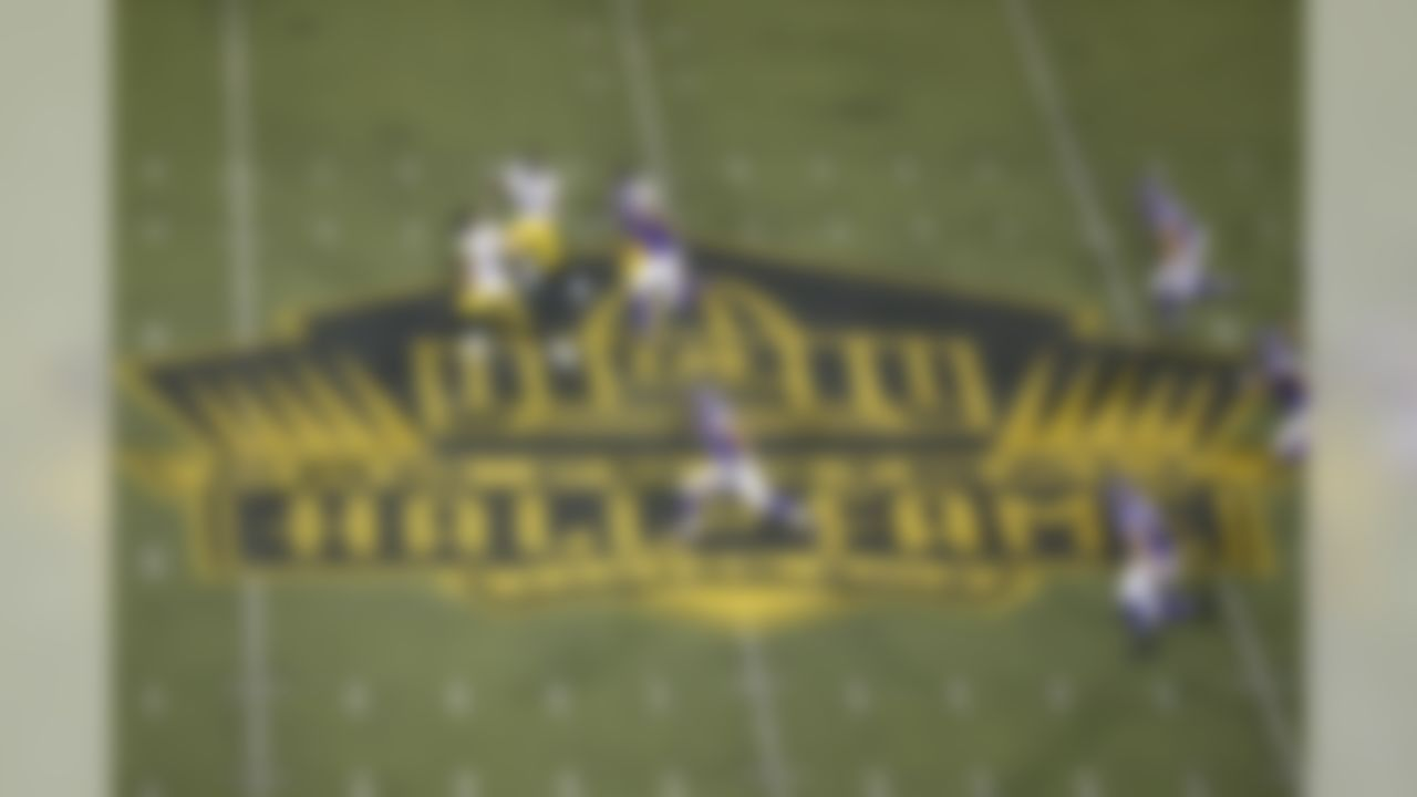 A general view of the midfield is seen during a game between the Minnesota Vikings and the Pittsburgh Steelers at Tom Benson Hall of Fame Stadium in Canton, Ohio on Aug. 9, 2015. (Ben Liebenberg/NFL)