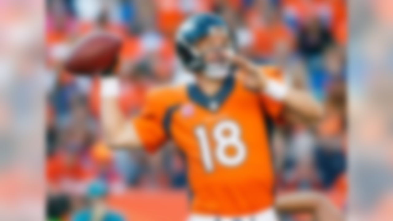 One week after lighting up the Arizona secondary, Manning gets to face the New York Jets, who have been more generous to opposing pass attacks than Bill Gates is through his charitable contributions. It's no wonder Manning was the No. 1 quarterback across the board.