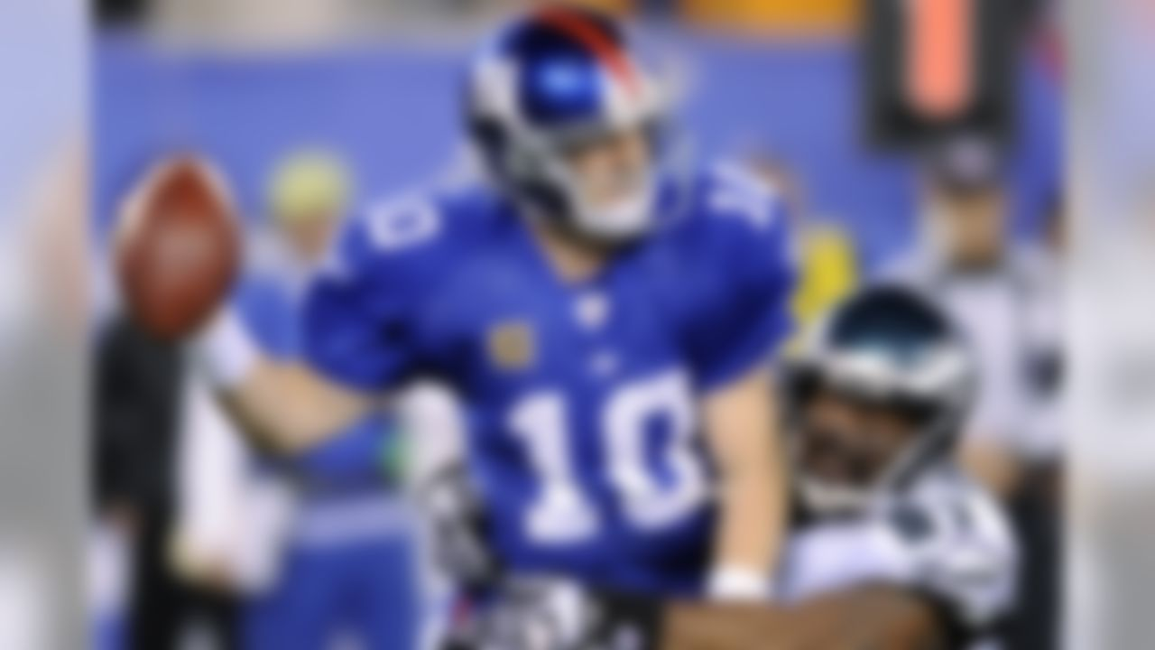 """A pair of Super Bowl titles does not impress NFL users, as Manning garnered the most votes for the NFL's most overrated player. Manning ranked 31st on the """"Top 100."""" Manning is still not considered among the elite by some users."""
