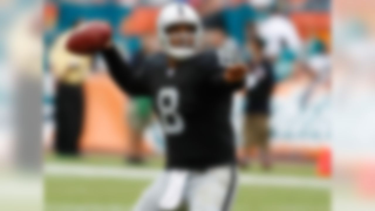 Culpepper was past his prime by the time he landed in Oakland, but Kiffin's all-time quarterback room isn't exactly overflowing with enticing options. This is probably the thinnest position group on the list. The big man gets the nod here over 2007 Raiders teammate Josh McCown -- as well as USC Trojan golden boys Matt Barkley and Cody Kessler -- because of his superior career resume: three Pro Bowls, two playoff wins and one Big Tymers-infused celebration. Let's remember the good times.