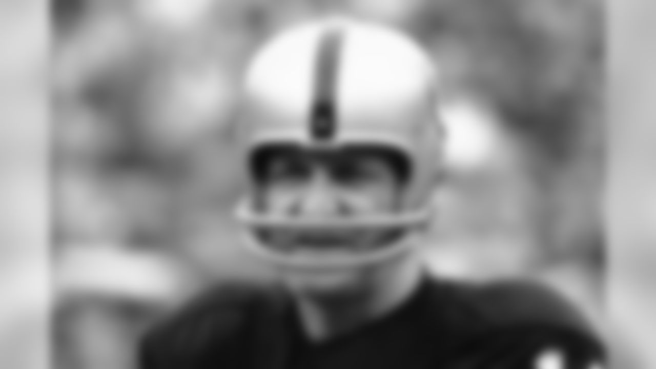 George Blanda, 43, sub quarterback and kicking specialist of the Oakland raiders, Jan. 11, 1971, has been named male athlete of the year by the associated press. Blanda, who excelled in football while completing with athletes half his age, beat out a glittering array of stars in the year-end poll of sports writers and broadcasters. (Associated Press)