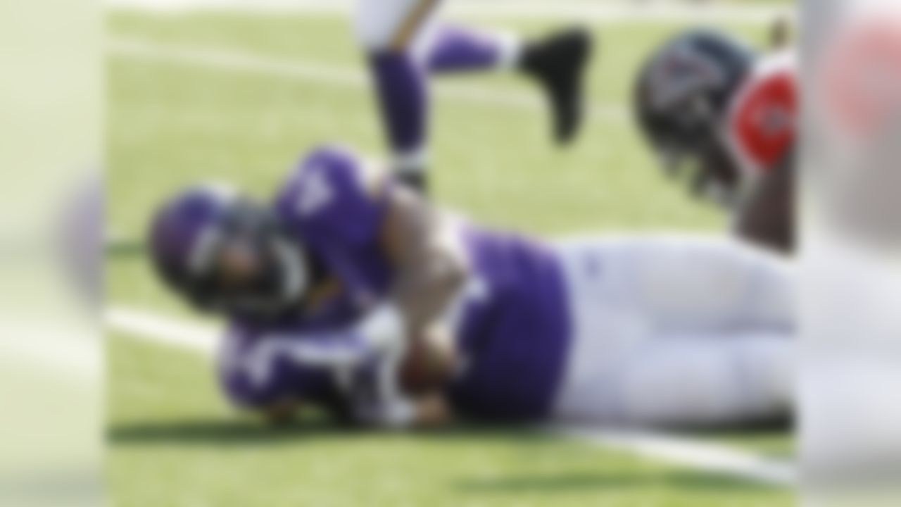 No one has a definitive answer to the question ... will Adrian Peterson return to the Vikings this season? Regardless, I'm surprised more people haven't jumped on the Asiata bandwagon. After all, he's now the lead back in an offense that has leaned on him as a bell cow. Asiata has responded with double-digit fantasy points in two of his last three games, including 28.00 points versus the Atlanta Falcons. Check out some additional fantasy analysis of Asiata on NFL NOW.