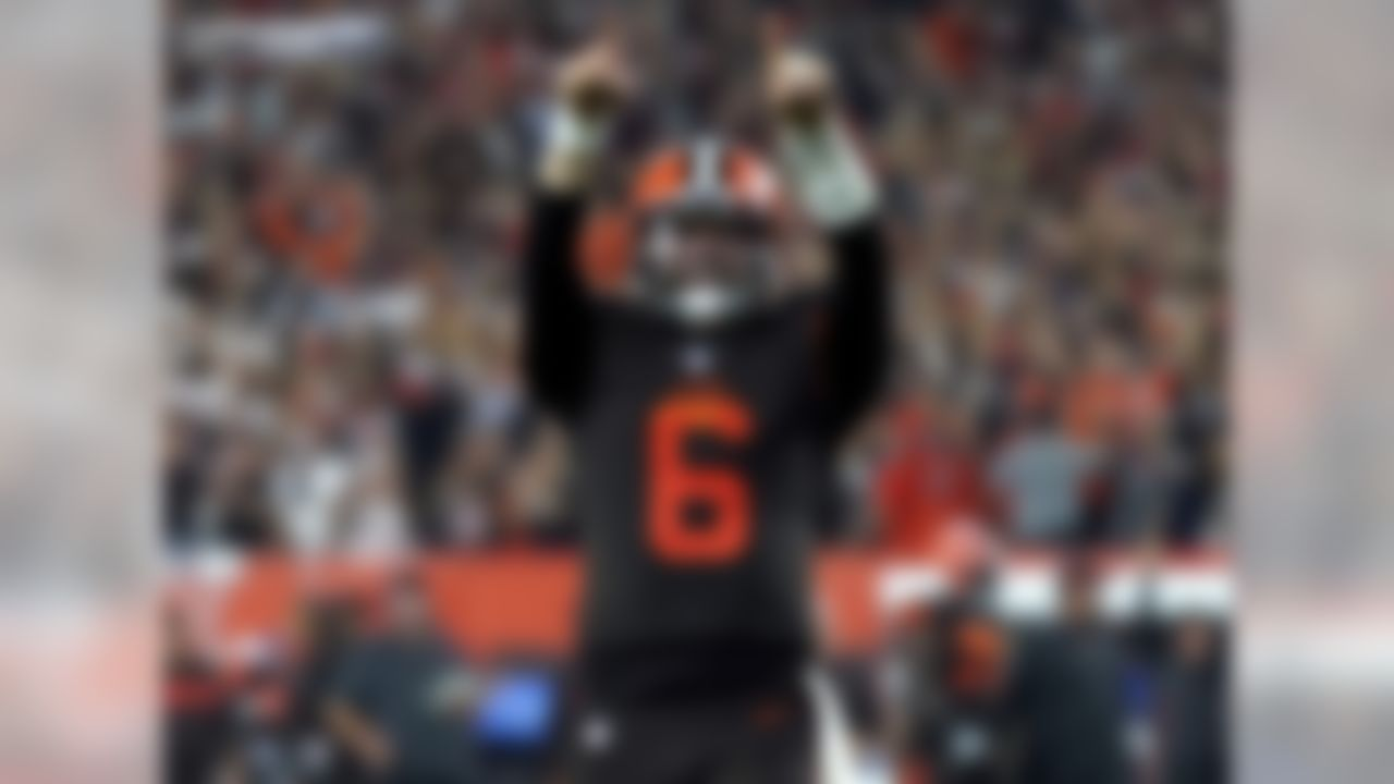 Baker Mayfield threw 27 touchdowns in 14 games last season, breaking the rookie record previously held by Peyton Manning and Russell Wilson – who both needed 16 games to get to 26. Mayfield led the Browns to six wins in 2018, the previous 12 Browns quarterbacks to start a game combined for five wins since 2014.