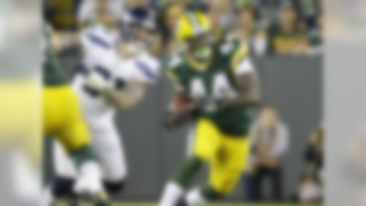 We don't yet know the extent of Eddie Lacy's ankle injury, but however severe it puts James Starks at the top of the waiver-wire target list. Starks has acquitted himself well as Lacy's backup, and has been with the team since 2010, so he knows the offense. He isn't as talented as Lacy, but gets the added benefit of playing in an offense run by Aaron Rodgers. If Lacy misses any time, Starks is on the RB2 radar, meaning he needs to be rostered in all formats this week.