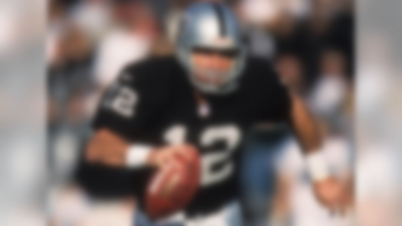 Gannon had been an unremarkable journeyman quarterback with stops in Minnesota, Kansas City and Washington before joining the Raiders in 1999 and turning his career around. In three seasons with Gruden, Gannon averaged nearly 3,700 passing yards (back when that was a big number) and made three straight Pro Bowls. Gannon would win the NFL's MVP award in 2002 ... though Gruden and the Buccaneers would ultimately wreck the Raiders' season.