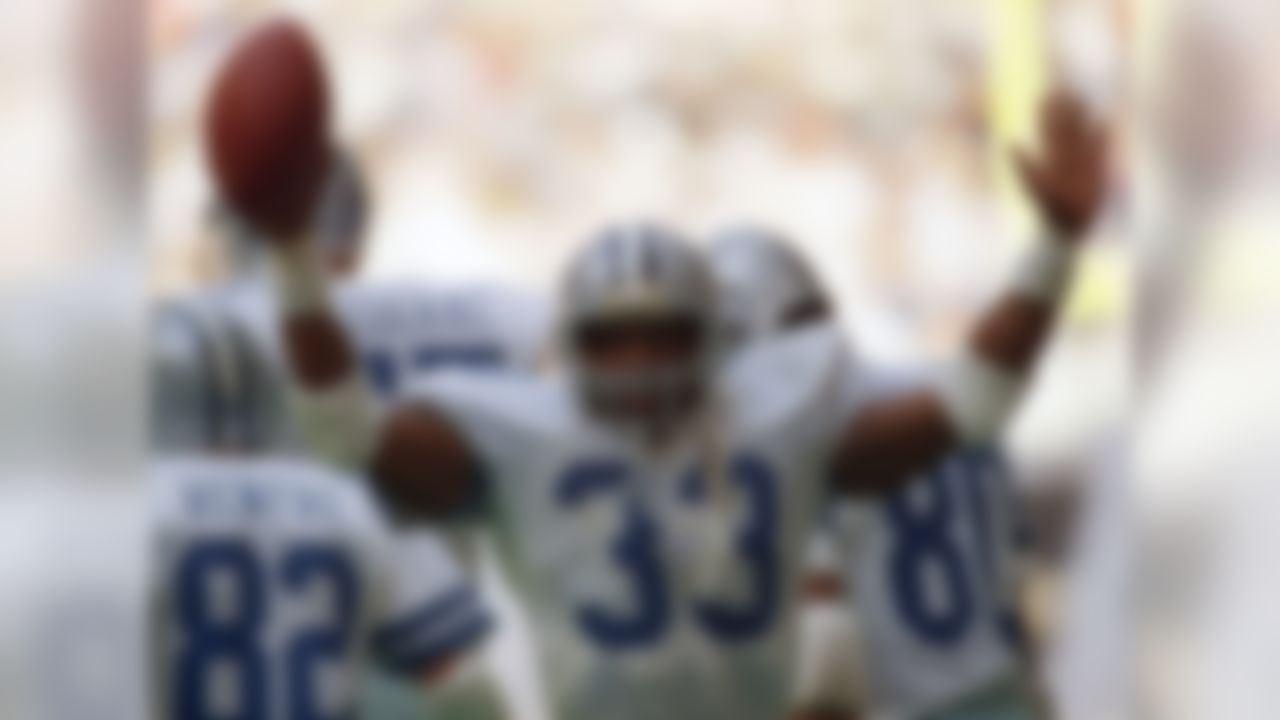 """If you grew up watching the NFL in the early 1980s, you heard Pat Summerall bellow out this stat on almost every Cowboys broadcast: """"Tony Dorsett hasn't missed gaining 1,000 yards since high school."""" With a little distance in perspective, this steak has become more impressive. Dorsett was only 5-foot-11 and 185 pounds, and performed in an era when defenses were geared to stop the run. And it's not like Dorsett barely broke 1G. He gained more than 2,000 yards for Pitt in 1976, and 1,646 yards for the Cowboys in 1981. His 1,007 yards in 1977 was the low-water mark, but he didn't start until Week 10! Dorsett's fantastic run ended in the strike-shortened 1982 season (... he still led the NFC in rushing that year)."""