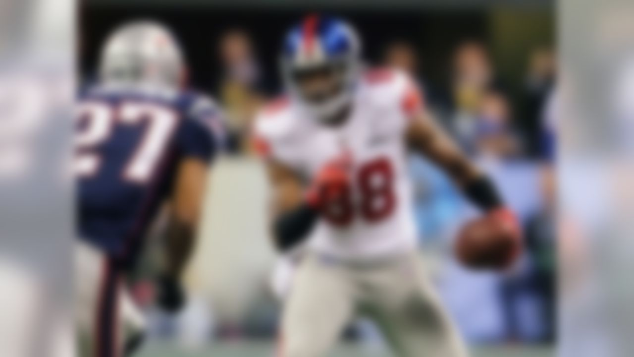 It's tough to say where Nicks should place when you haven't seen the complete list. But it's safe to assume Victor Cruz will end up in the top 100, and it would be a mistake to have him ahead of Nicks, who really was one of the biggest unsung heroes for the Giants in Super Bowl XLVI. Nicks has the skill-set to be a top-5 receiver, so his ranking here is very low. Seriously, do the Giants not vote on this?