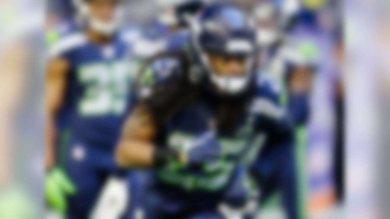 Tough to separate Sherman from Darrelle Revis (whom I would rank 11th in an expanded list), but I'm giving the Seahawk a slight edge here. The former fifth-round pick has established himself as a truly elite NFL corner, with shutdown ability and a knack for playmaking. In four NFL seasons, Sherman has picked off 24 passes -- that's a remarkable number, considering quarterbacks are spooked and generally avoid his side of the field.