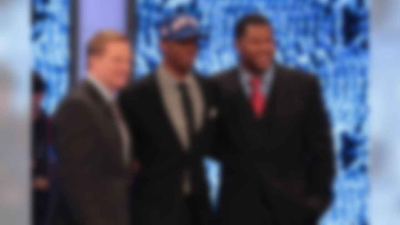 """Once again, one of the prospects invited to attend the NFL draft had to wait until the final pick of the second round, twiddling his thumbs as 62 names other than """"Randle, Rueben"""" got called. That said, the kid didn't show frustration. When we spoke with Randle, he just looked like a man who needed sleep. Can you imagine waiting, oh, 30 hours for your name to be called? To his credit, Randle said he was """"relieved"""" and had a great attitude about the process. Correction, slow process."""