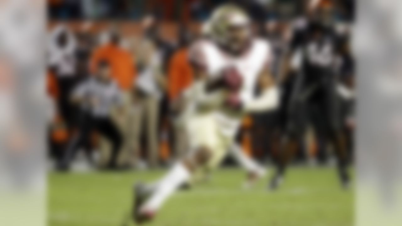 Few defensive back prospects in recent years have come out of college with Ramsey's combination of aggressive play and pure athleticism.  Sure, he looked like quite the explosive athlete at the combine with a 41-1/2 inch vertical and a crazy-good 11-3 broad jump.  But his tape shows a tenacity and ultra-confident nature that is necessary to succeed in the NFL. Scouts often refer to defensive linemen converting speed to power when rushing the passer, but it seems like Ramsey does that when lining up a receiver on a screen play or down the sideline. Whether his new team lines him up at corner or safety, Ramsey will certainly make an impact.