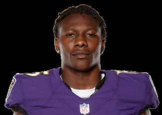 Baltimore Ravens #15 Marquise Brown Draft Game Jersey - White