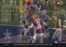 Steven Sims' perfect route-running leads to TD snag