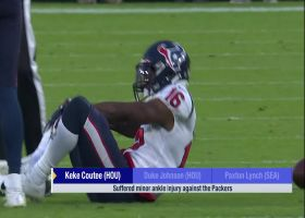 Rapoport: Keke Coutee's ankle injury not considered serious