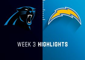 Panthers vs. Chargers highlights | Week 3