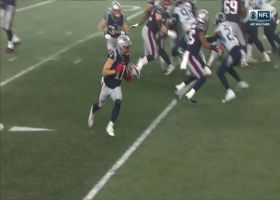 Julian Edelman trots in for untouched TD run on fly sweep