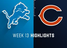 Lions vs. Bears highlights | Week 13