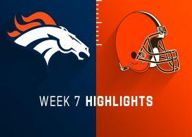 Broncos vs. Browns highlights | Week 7