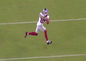 Shepard's first catch in return to action goes for a first down