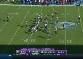 Adam Thielen's first catch since return from injury goes for 13 yards