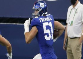 Can't-Miss Play: Kyler Fackrell stiff-arms Zeke en route to 46-yard pick-six