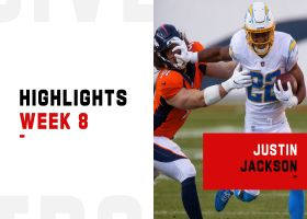 Justin Jackson's best plays from 142-yard game | Week 8