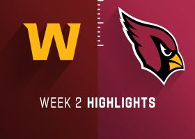 Washington vs. Cardinals highlights | Week 2