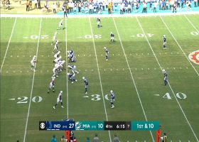 Can't-Miss Play: Parker gets UP to snag Brissett's top-shelf launch for 42 yards