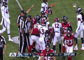 Falcons recover Broncos' muffed punt to keep drive alive