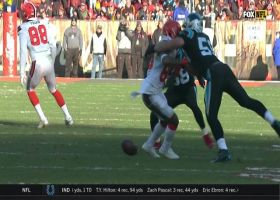 Panthers recover Kuechly's second forced fumble