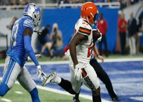 Dayes and confused: Matt Dayes loses Lions D on 42-yard TD