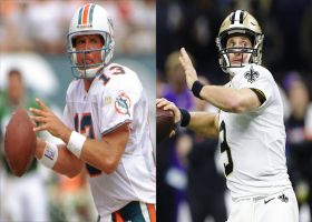 Dan Marino vs. Drew Brees: Who is the purer passer?