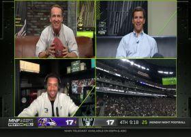Russell Wilson predicts Lamar Jackson's downfield launch vs. Raiders
