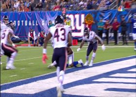Lauletta fires tight-window throw to Dickerson for TD