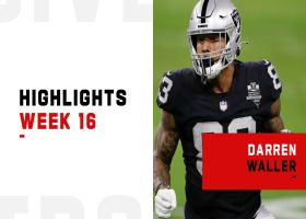 Every catch by Darren Waller from 112-yard game | Week 16